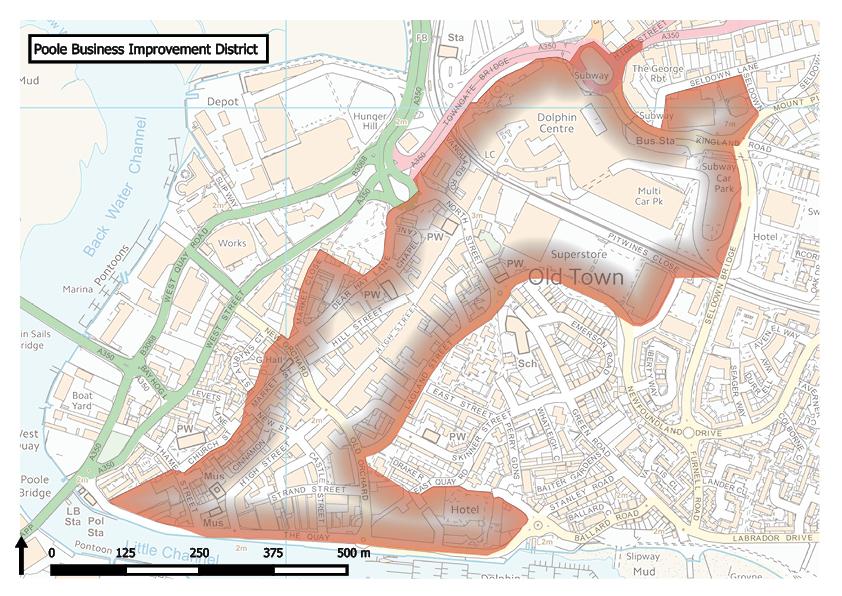 Poole BID plan set to be dispatched