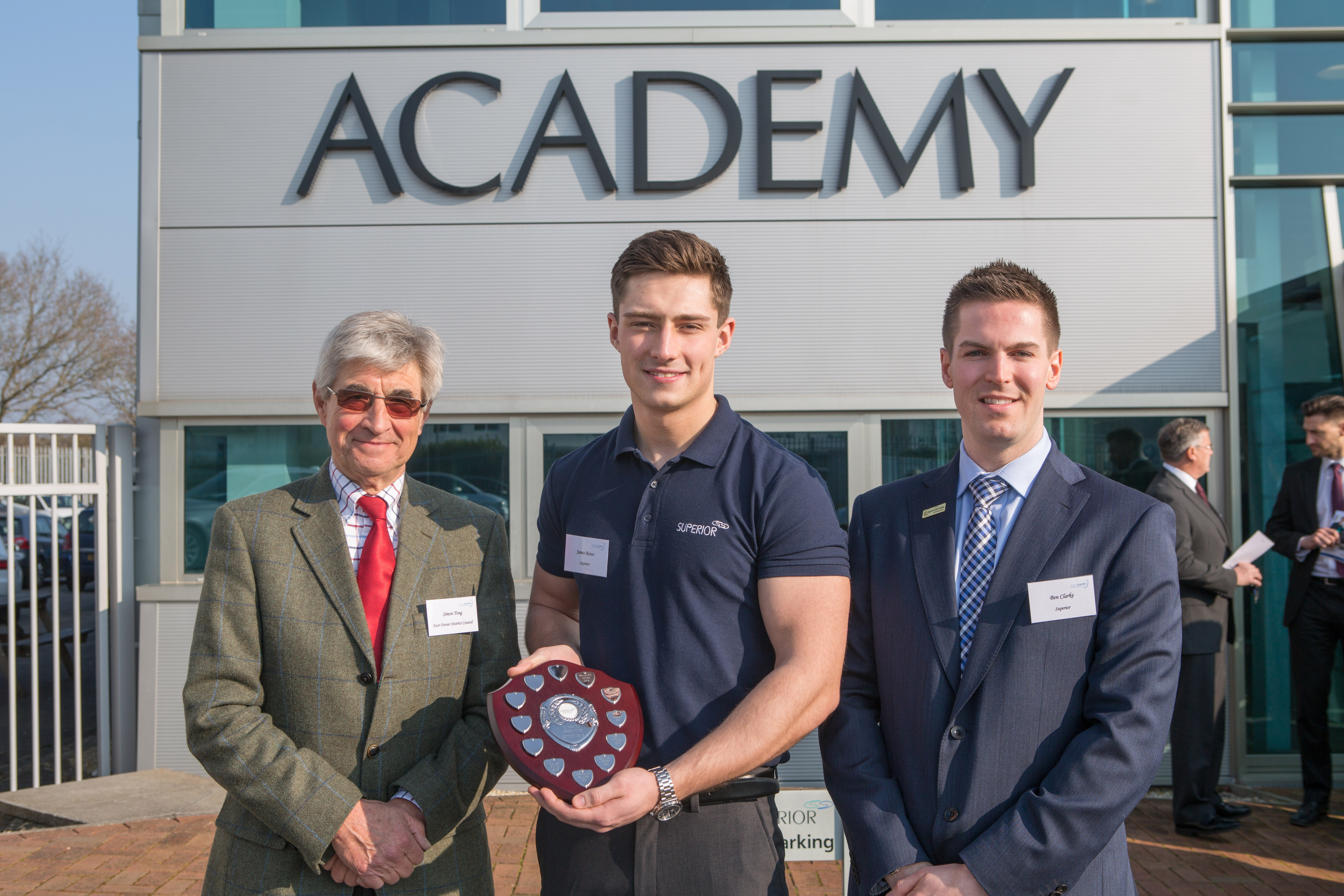Superior announces its Apprentice of the Year, James Rowe at exclusive local business event