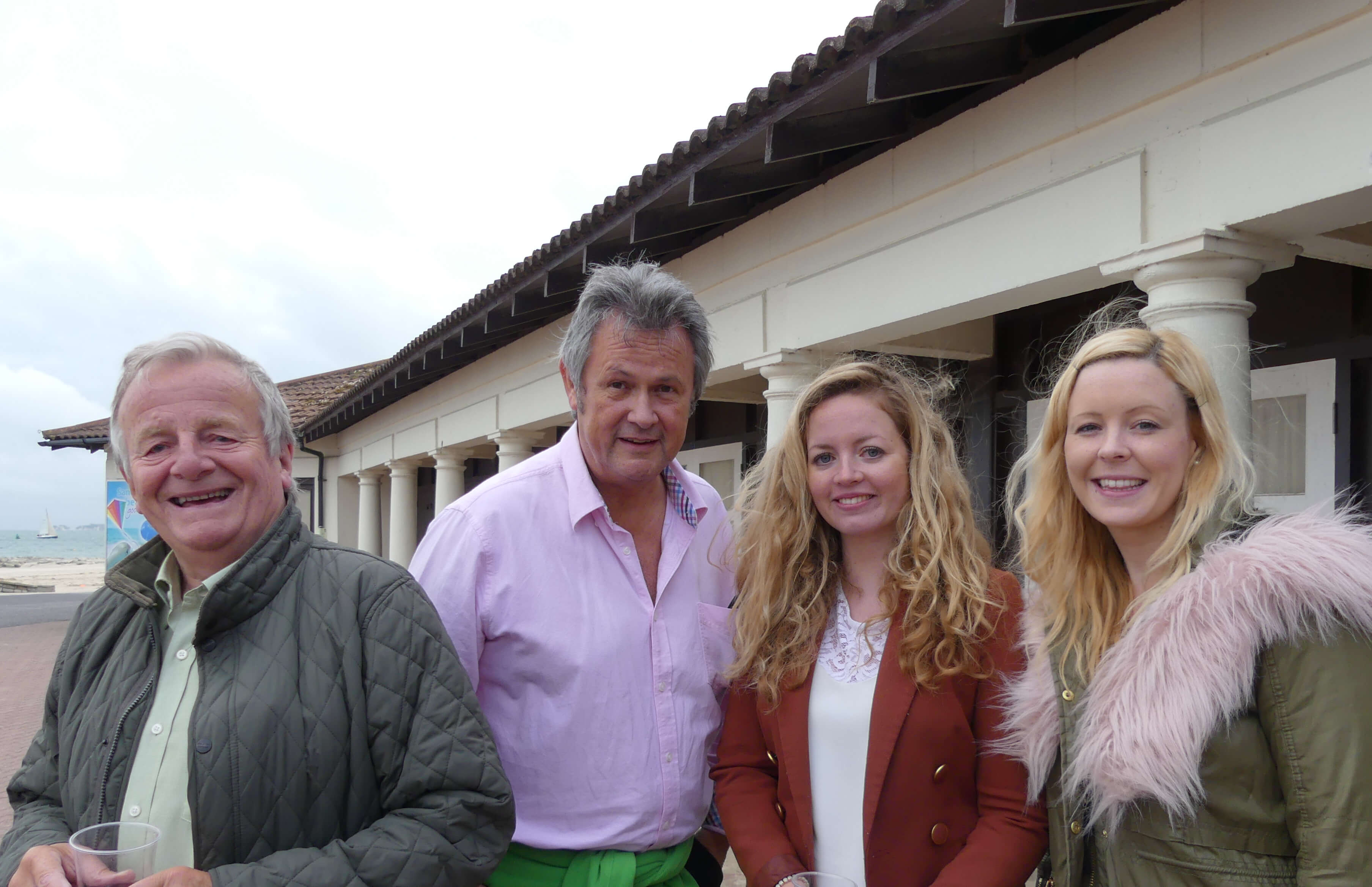 arry White & Darrell Stuart-Smith of Humphries Kirk with Louise Williams & Alice Rook of Liz Lean PR