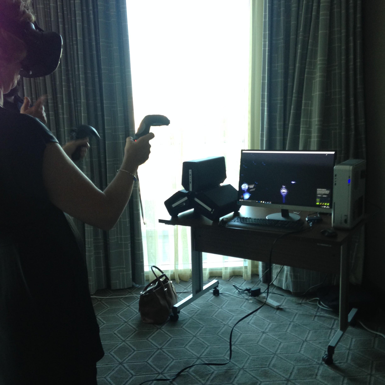 VR at Hilton Bournemouth