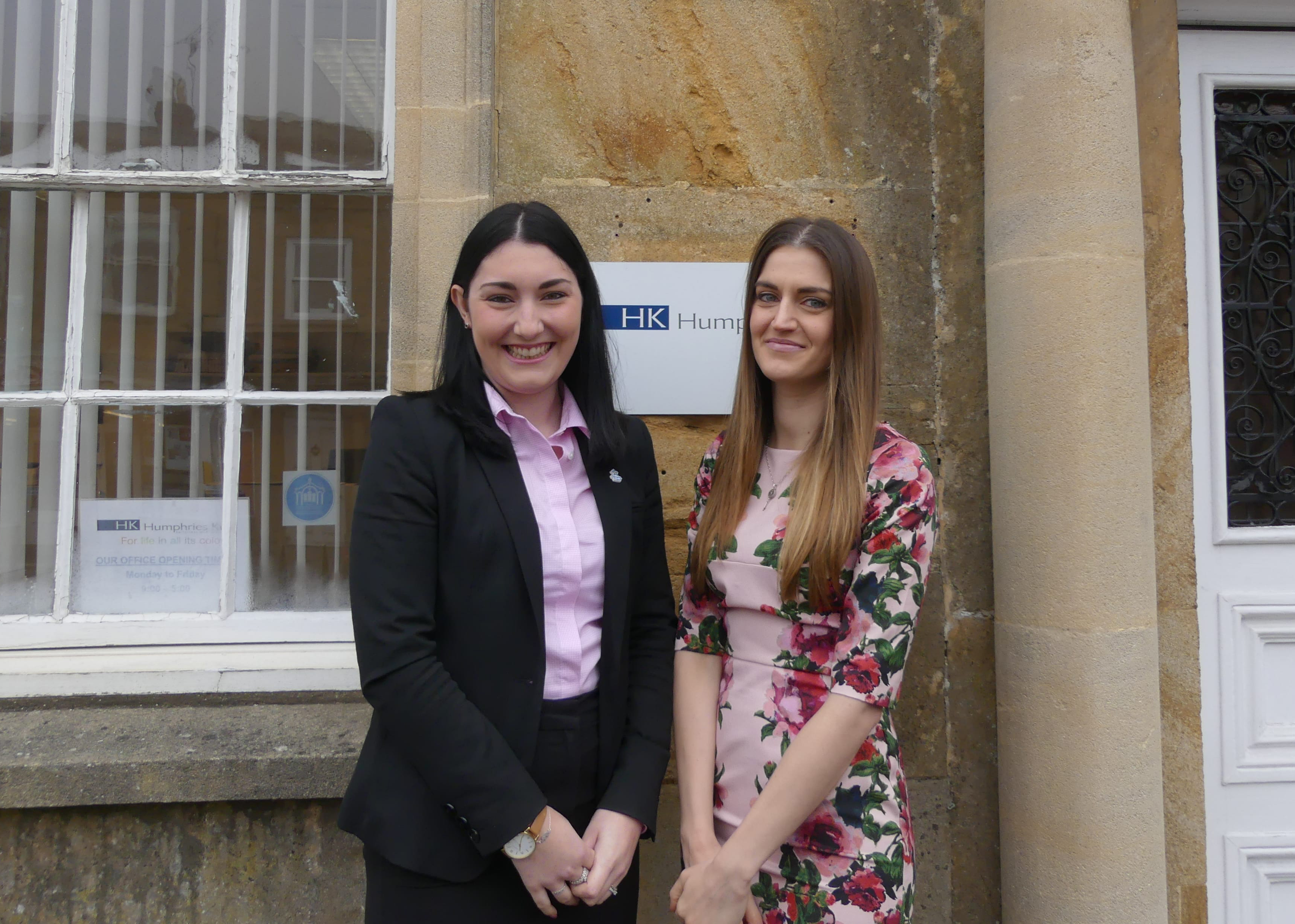 Humphries Kirk Crewkerne, Abigail Doggrell and Kelly Taylor