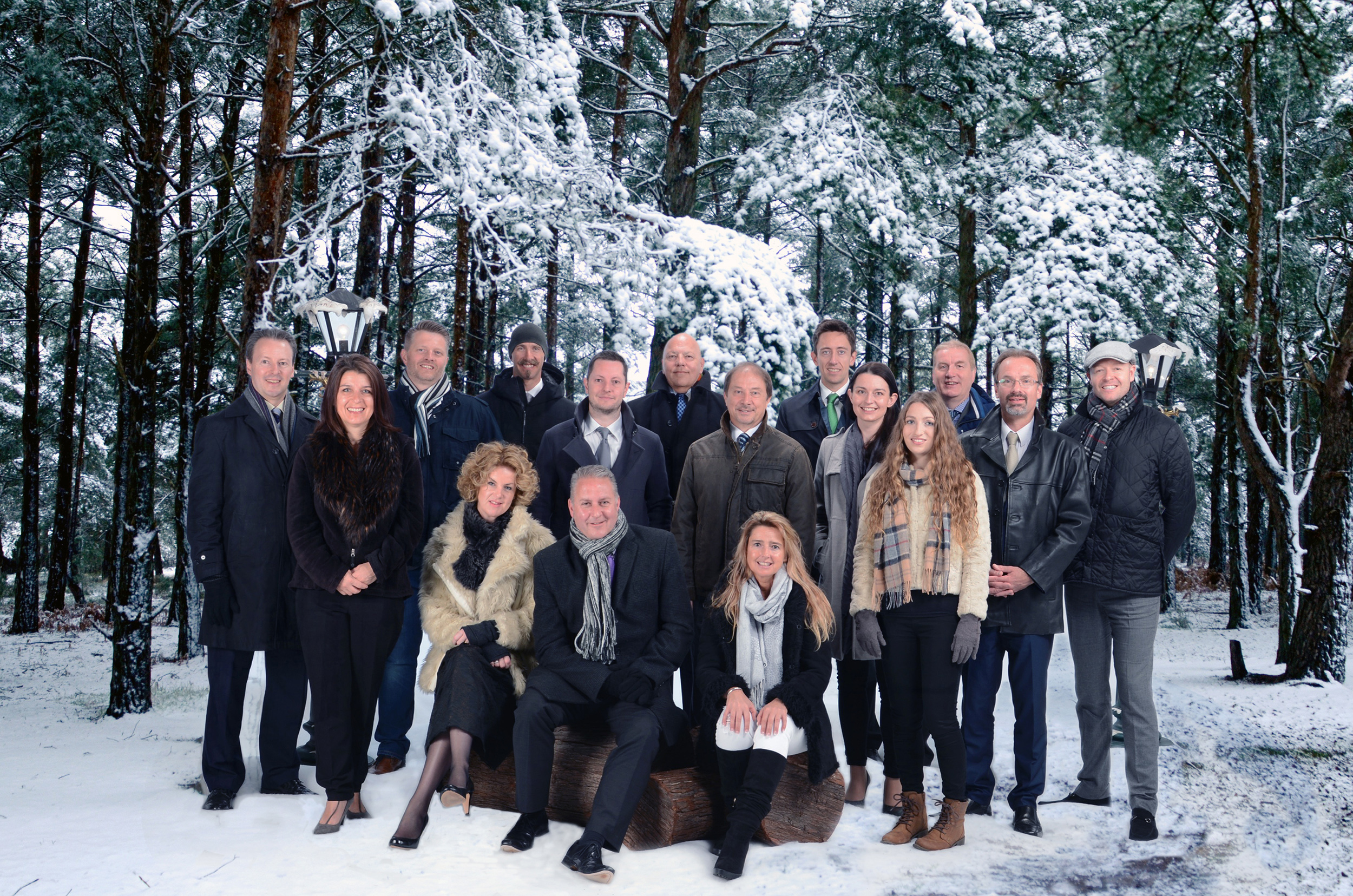 Sponsors gather to launch the magical Ice Kingdom themed 2016 Dorset Business Awards