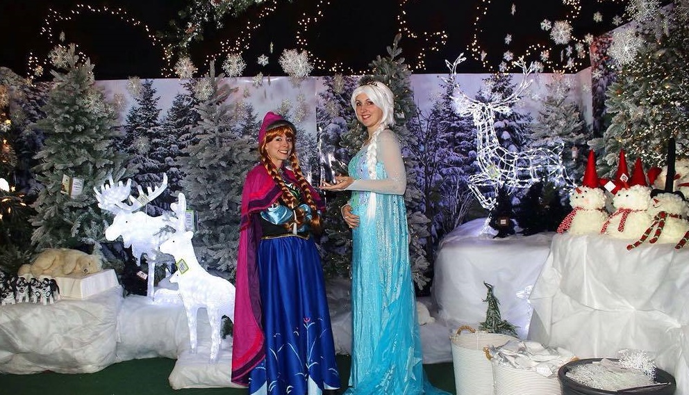 Ice Queen and friends to visit Brewery Square