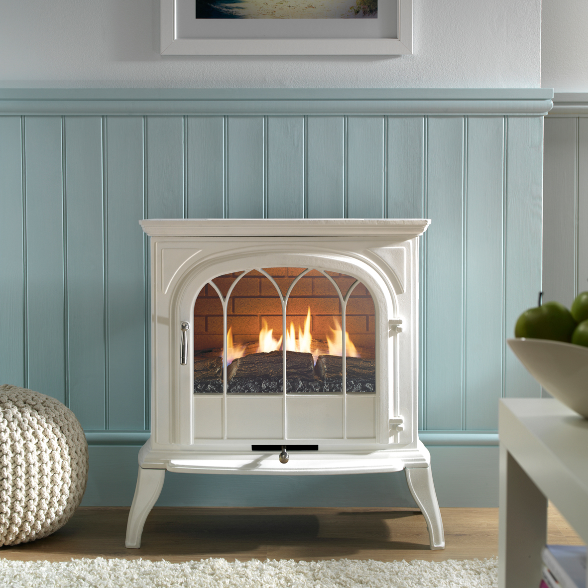 The new Leirvik Gas Stove, from £794.00 available from B&Q: www.DIY.com