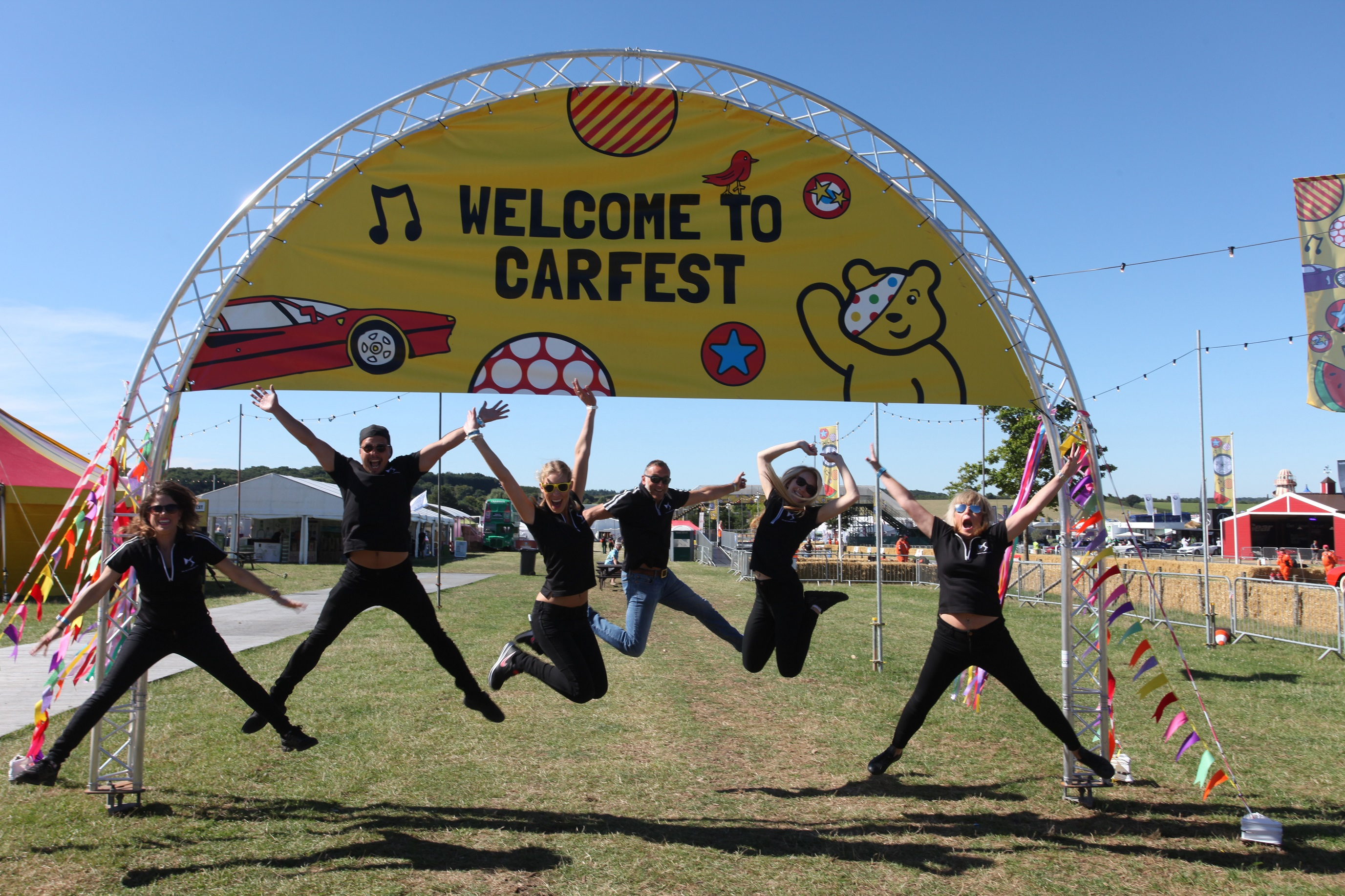 Weird Fish zooms to join CarFest South line-up