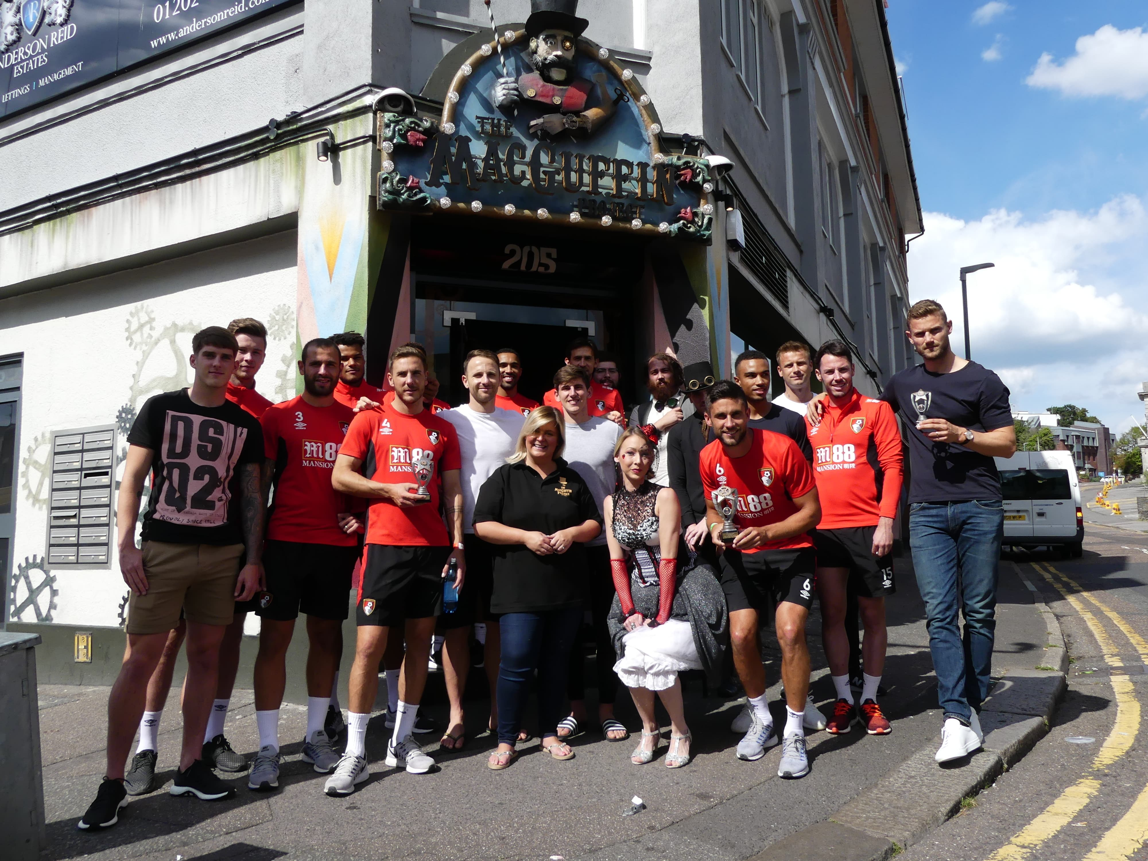 AFC Bournemouth take on The MacGuffin Project