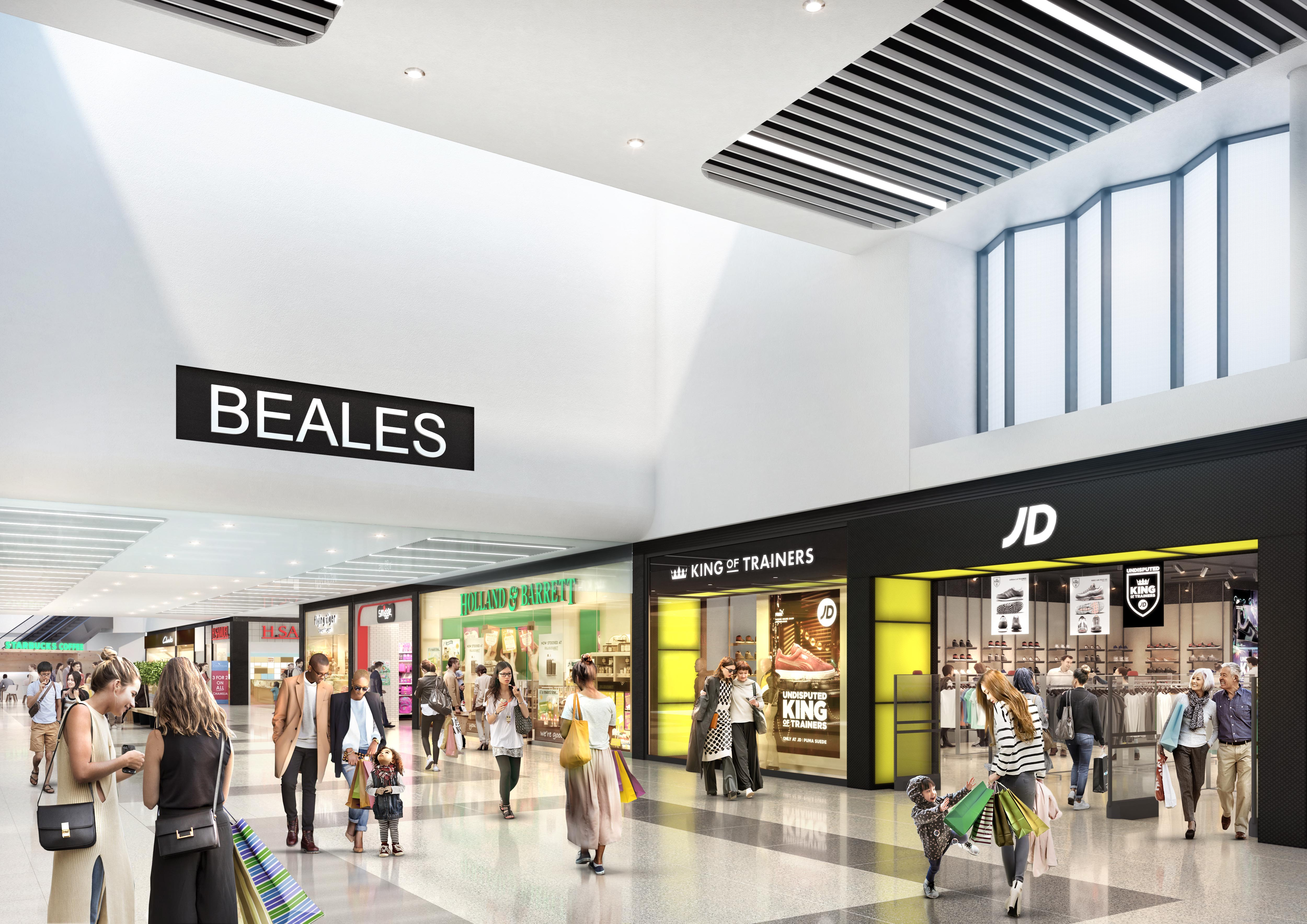 More new stores are set to move into the Dolphin Shopping Centre