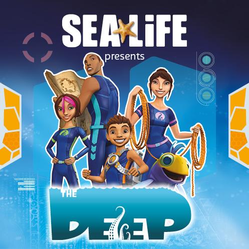 Undersea explorers at the ready! CBBC's The Deep: Junior Nekton Academy arrives at Weymouth Sea Life Adventure Park