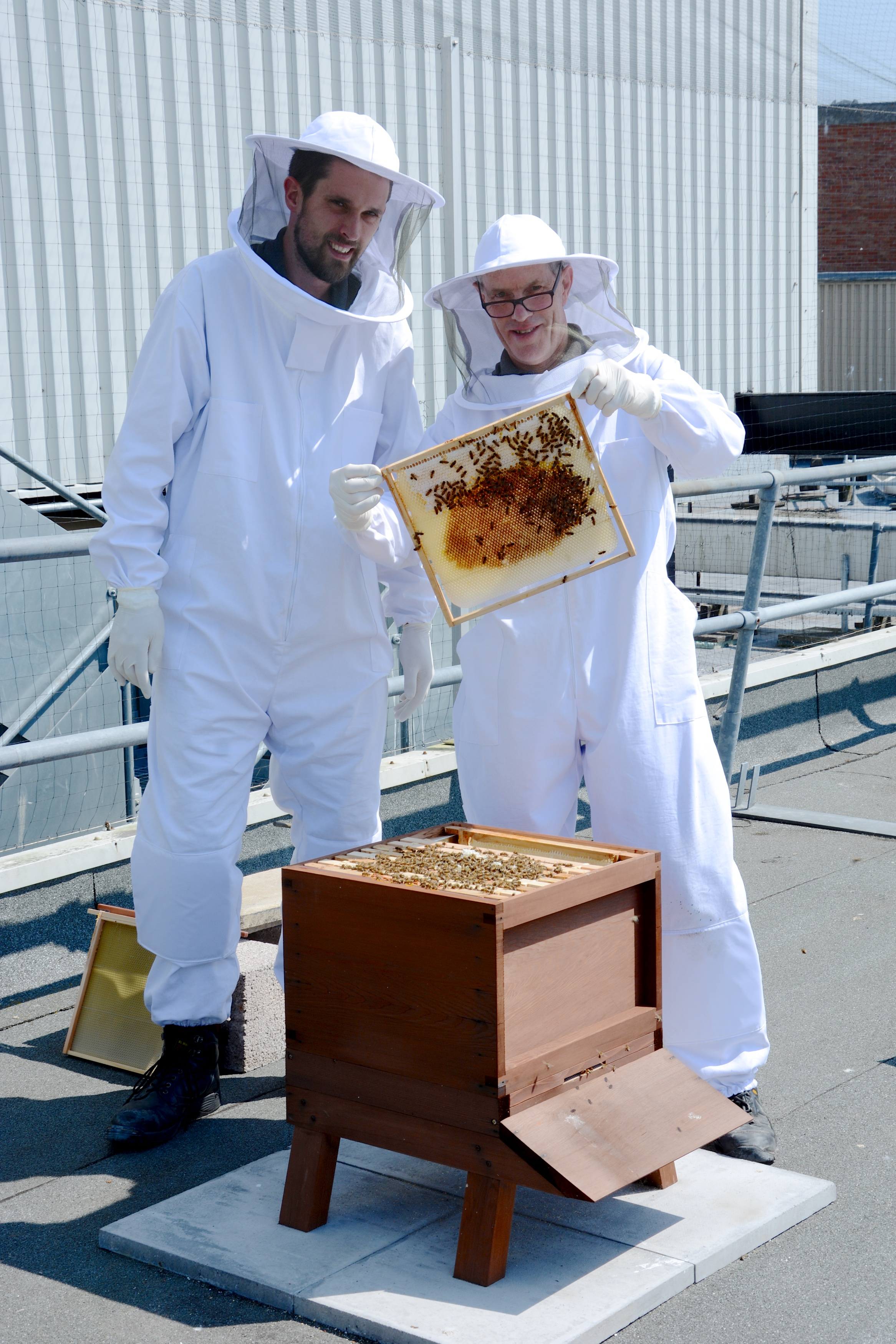 Dolphin Shopping Centre's environmentally-friendly 'Rooftop Honey' goes on sale at the centre