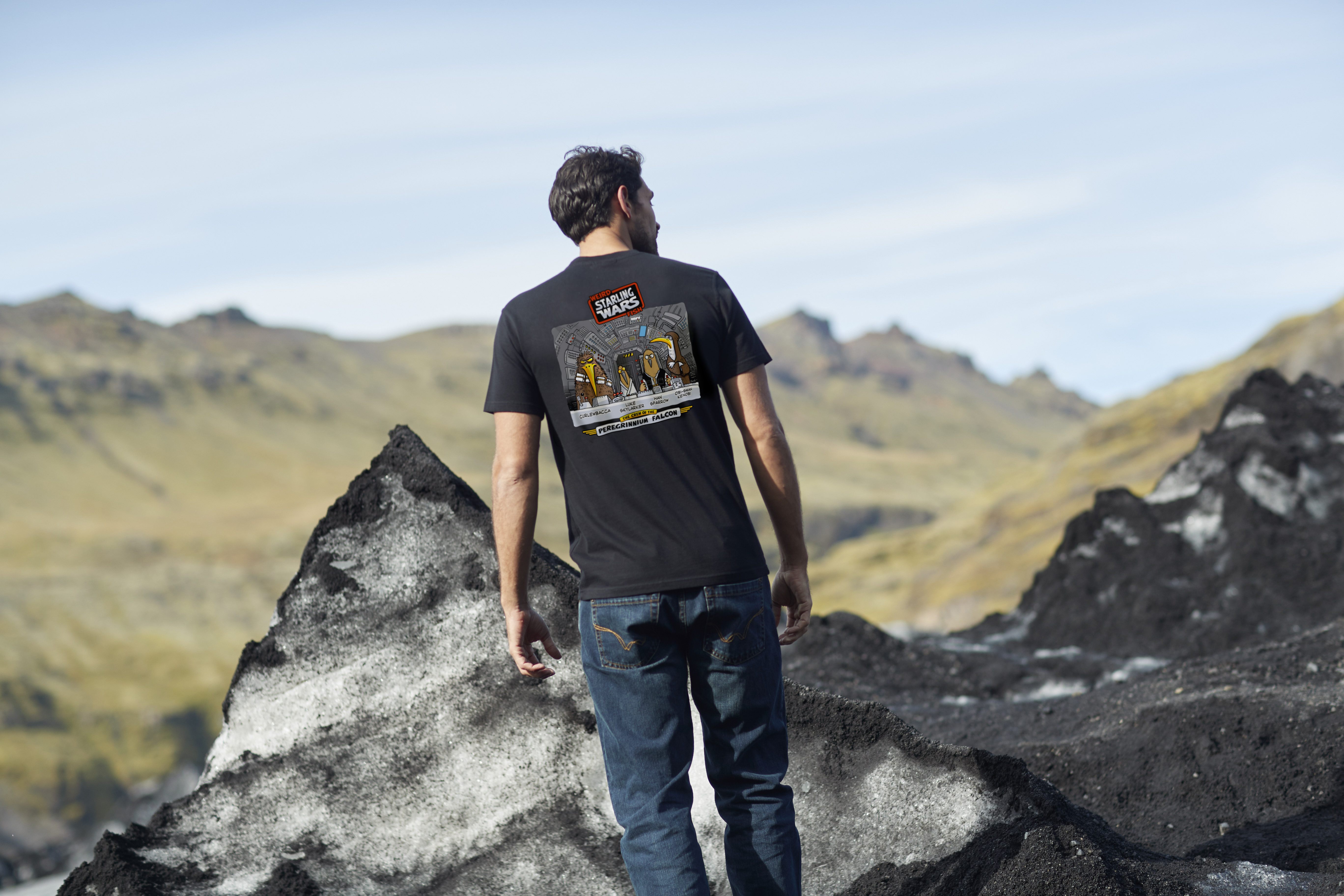 Starling Wars T-shirt