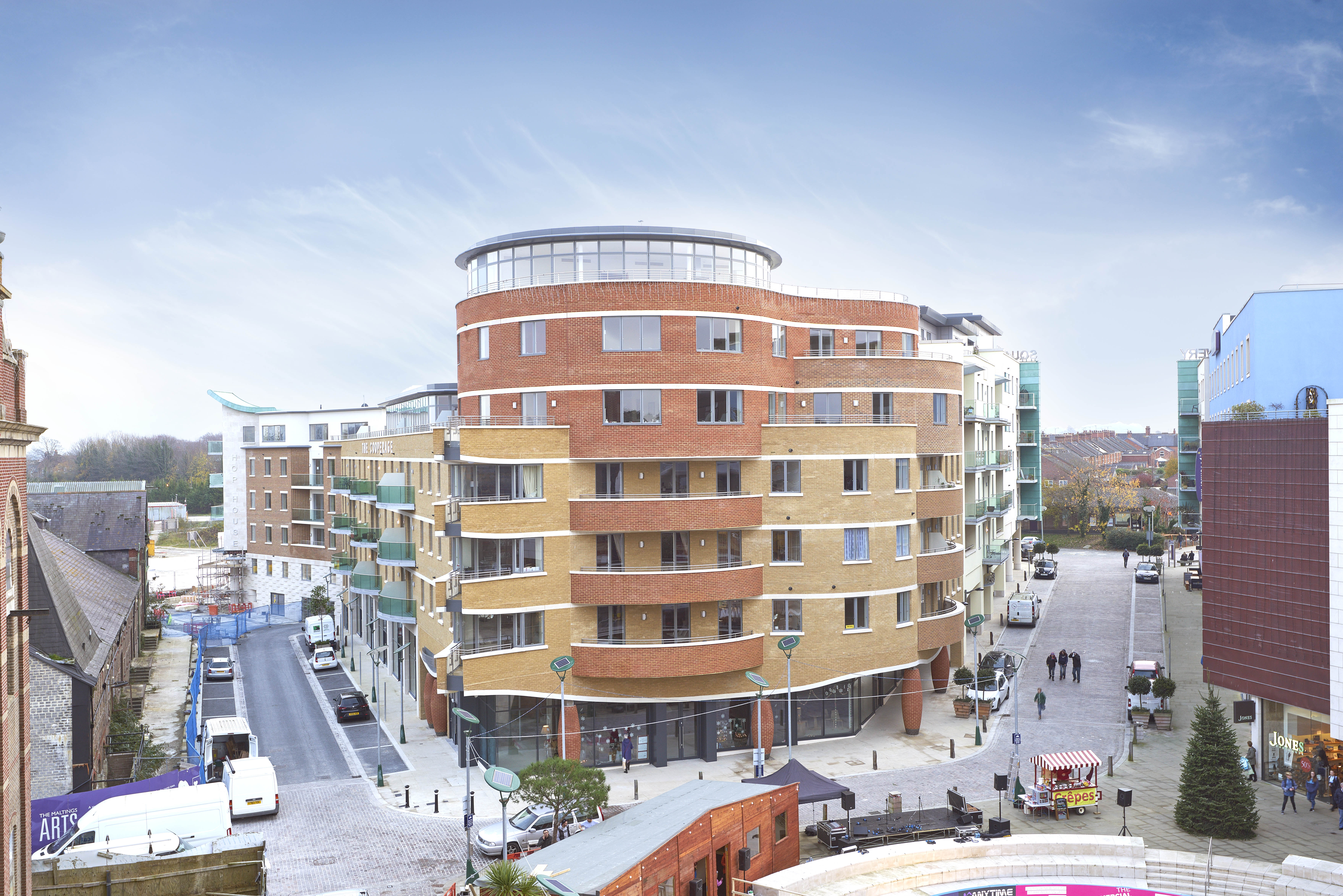Sales success at Brewery Square