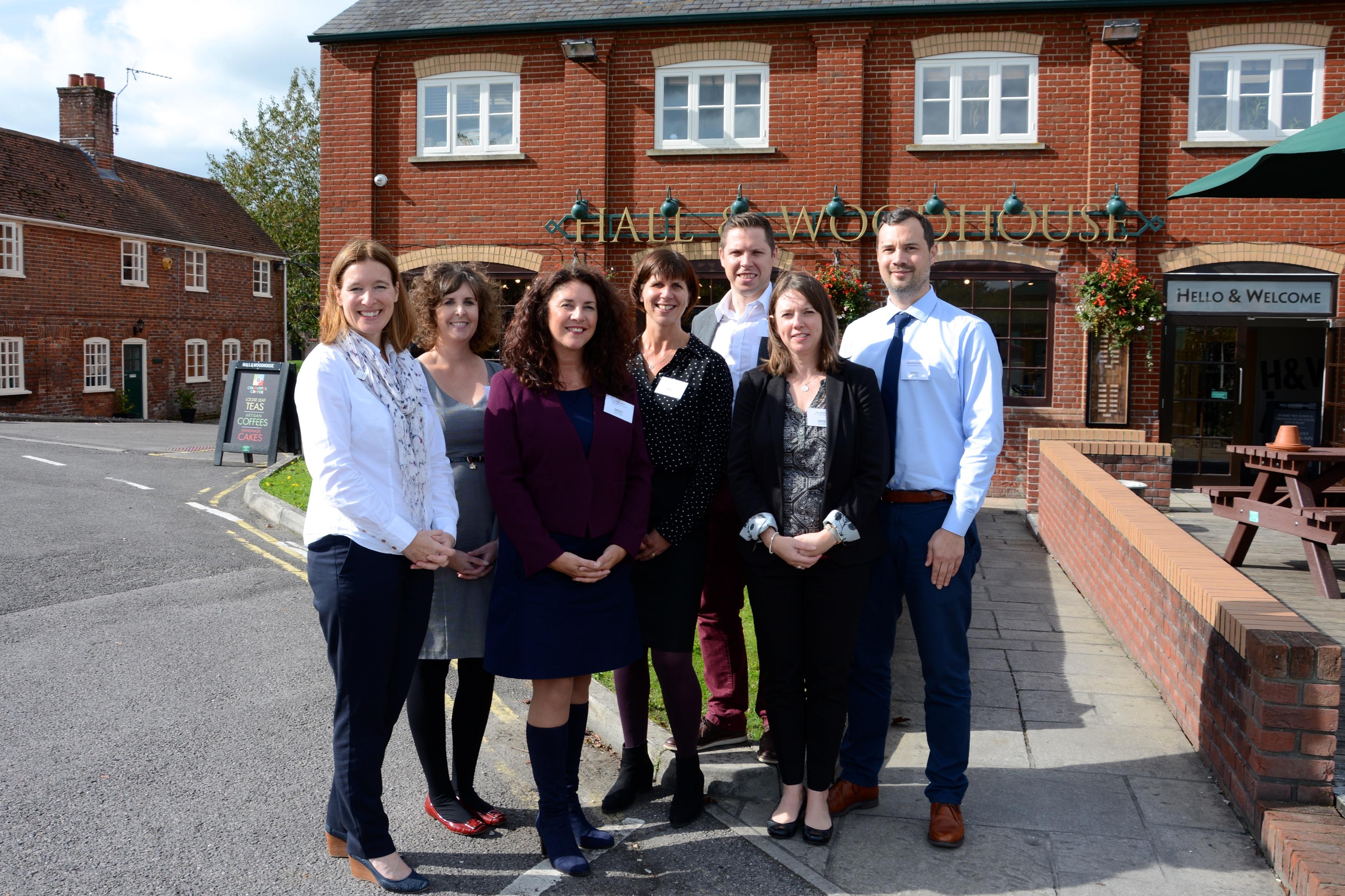 The Visit Dorset team