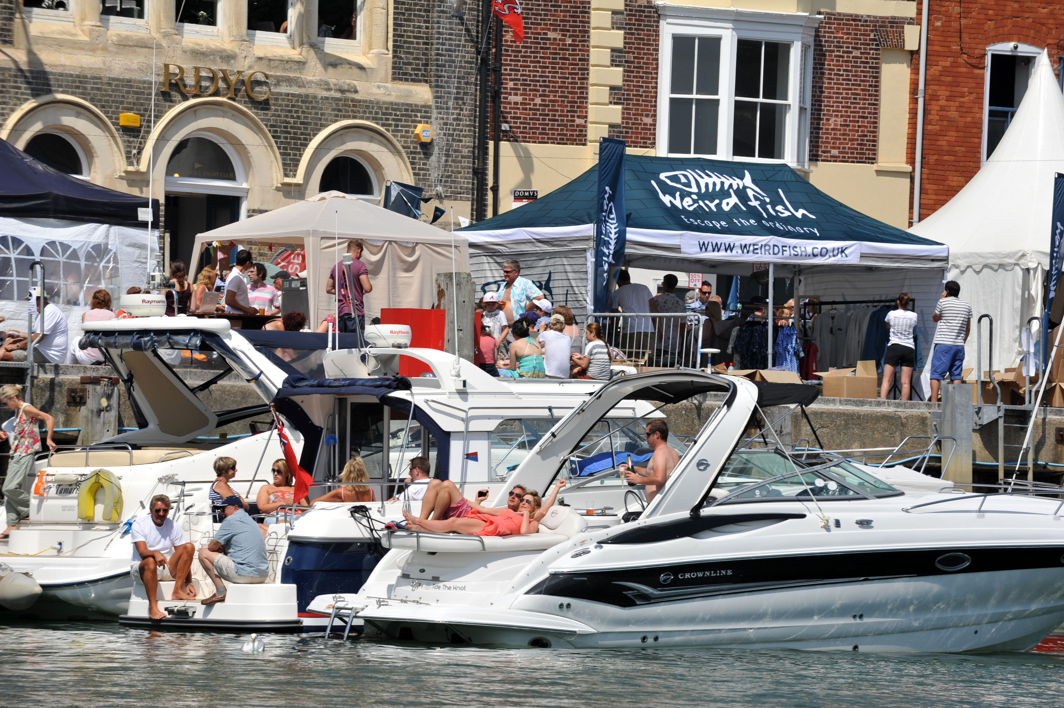 Weird Fish sponsors the Pommery Dorset Seafood Festival for ninth year in a row
