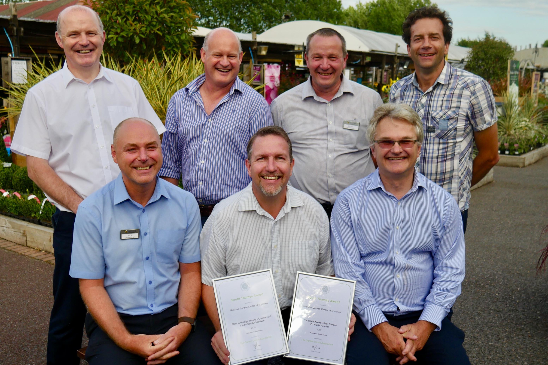 Haskins Garden Centres top multiple categories at the Garden Centre Association South Thames regional awards