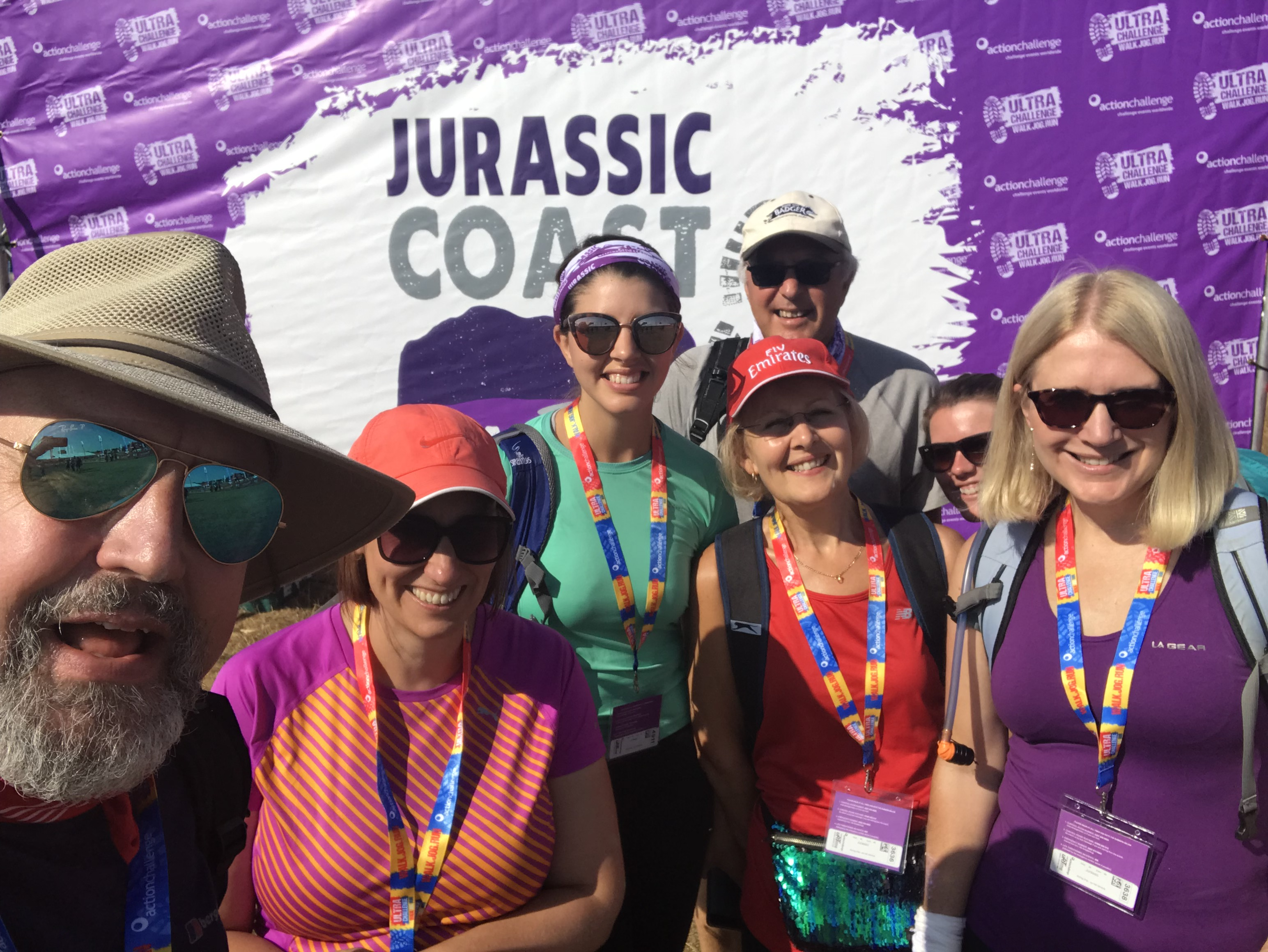 The H&W team take on the first ever Jurassic Coast Challenge