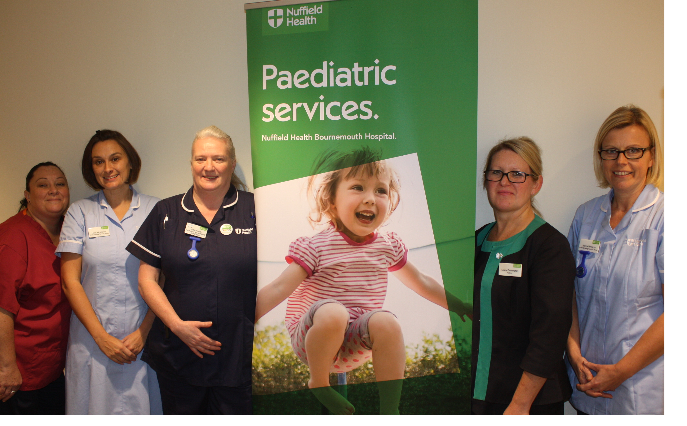 Paediatric services recruit three new staff to support increasing growth