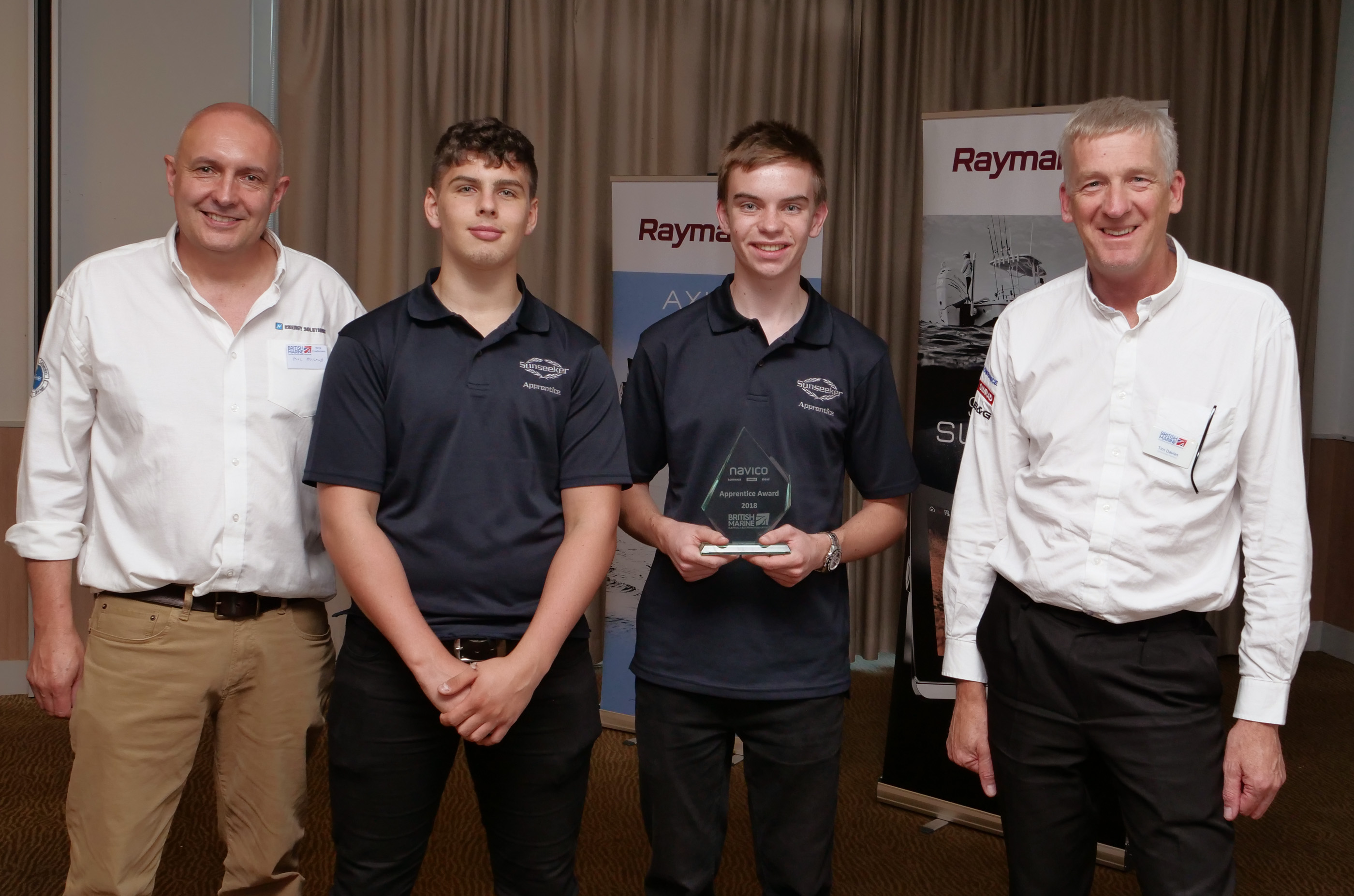 The future looks bright for the Marine Industry as Bournemouth & Poole College students lead the way at national competition