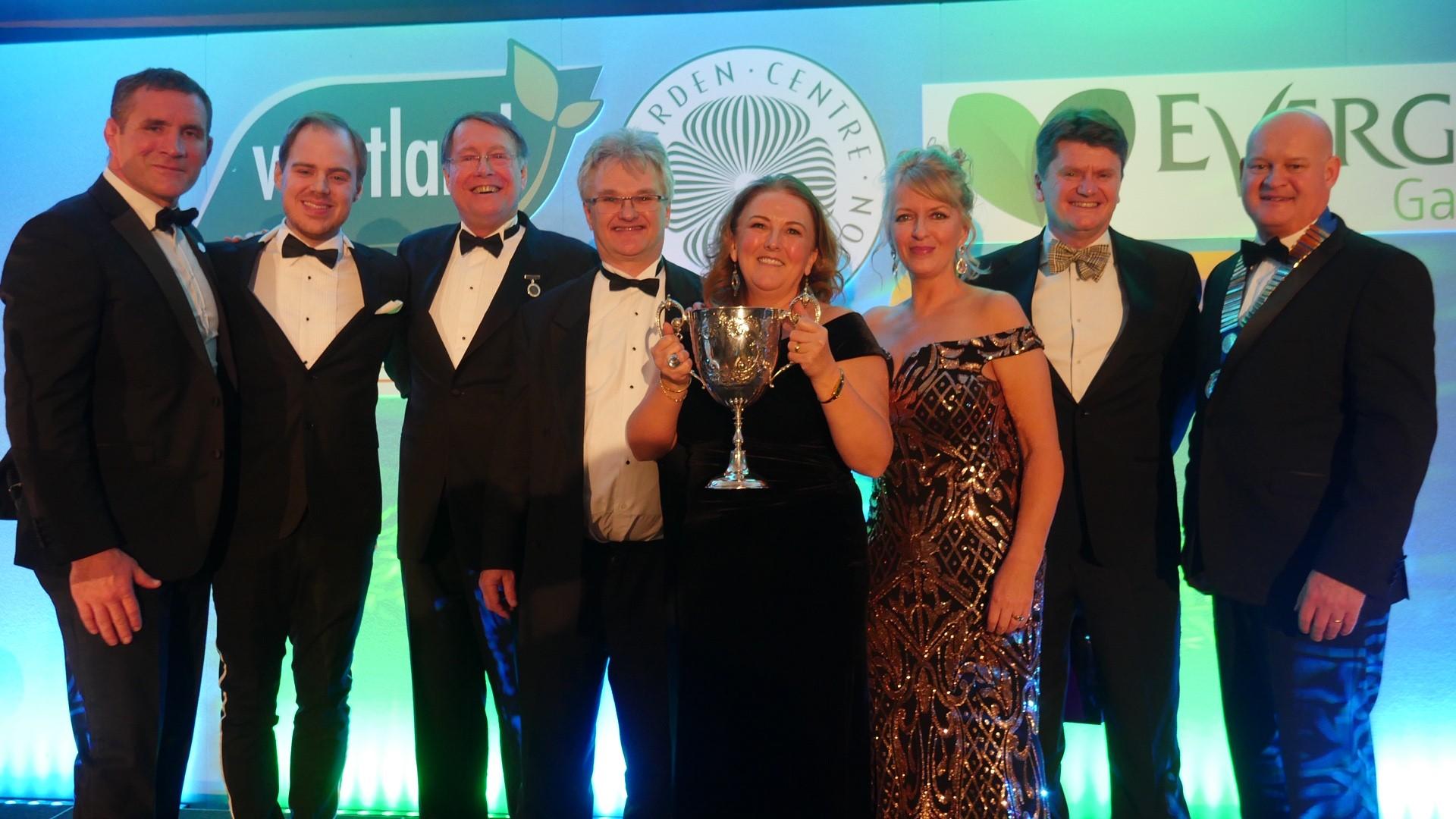 Haskins Garden Centres scoops multiple awards at the Garden Centre Association Conference 2019