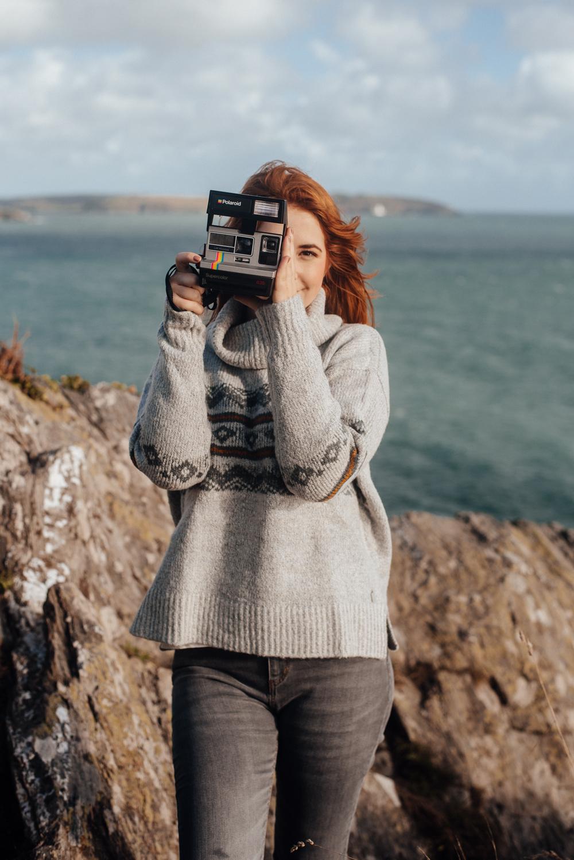 Cornish fashion blogger makes a splash at Weird Fish photo shoot 2