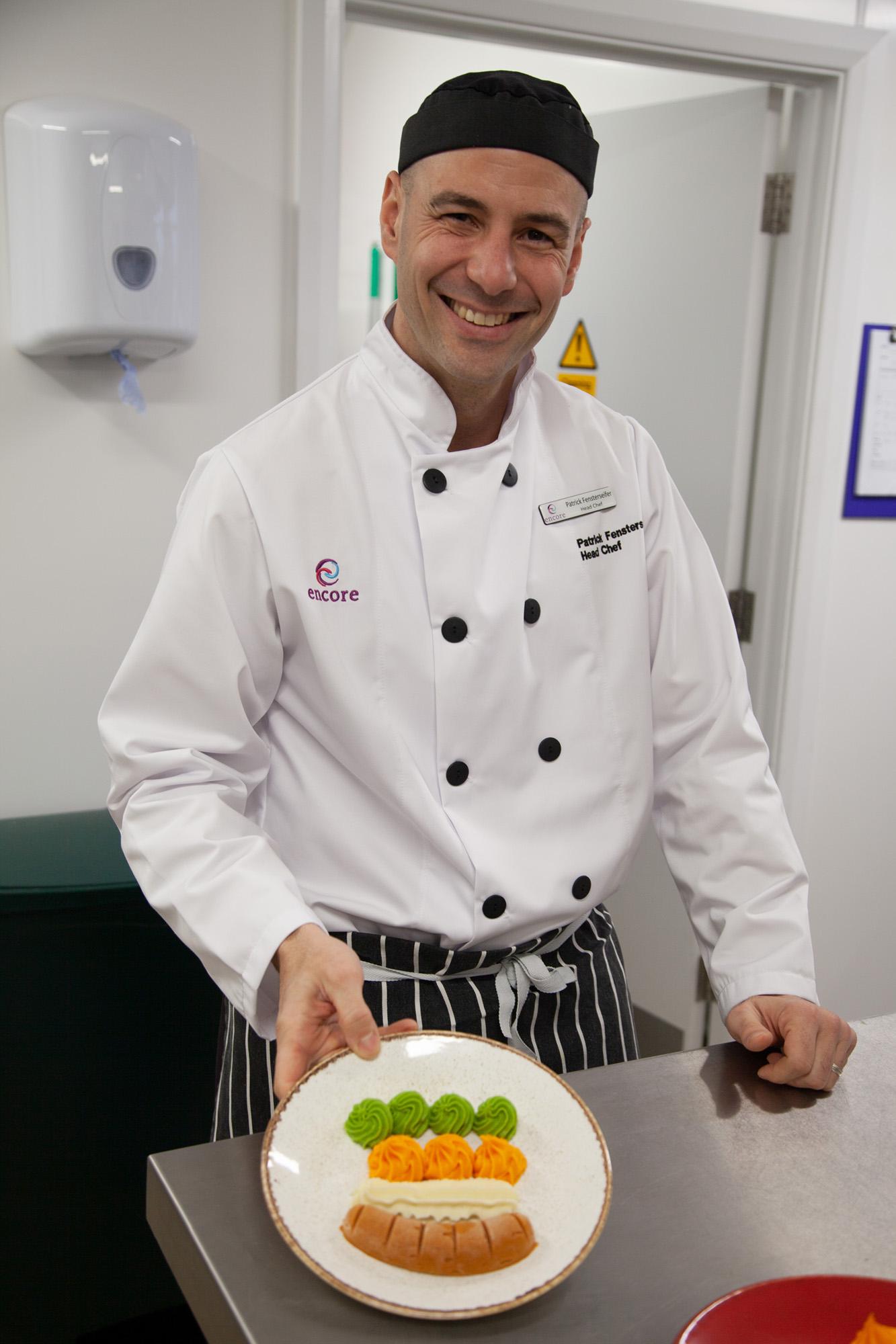 Patrick Fensterseifer - Head Chef of Great Oaks