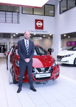 Paul Hughes, Nissan-min