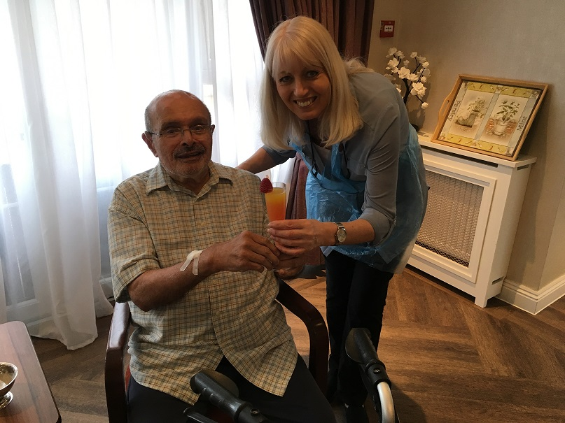 Fairmile Grange care home celebrates Nutrition and Hydration Week