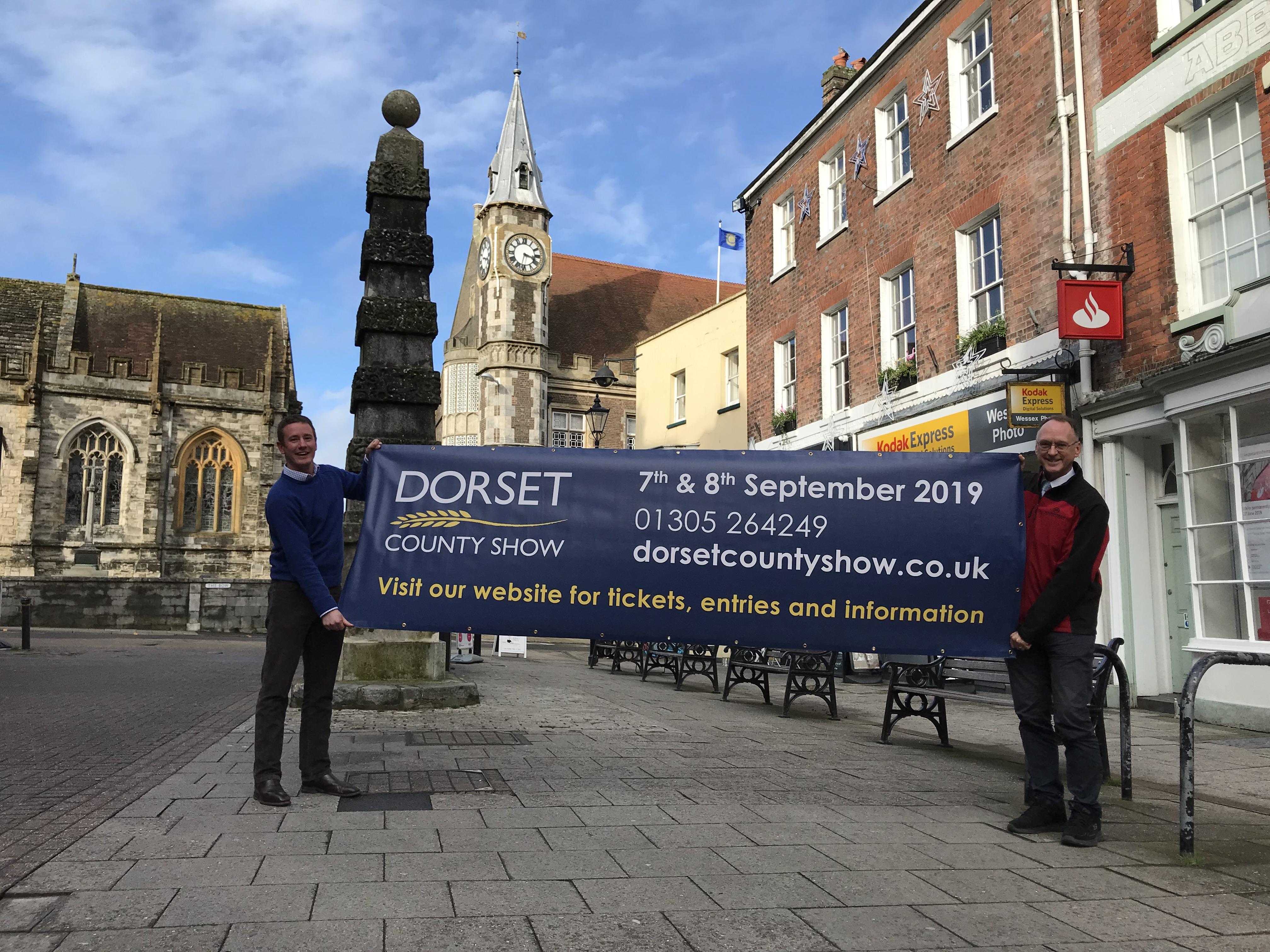 Will Hyde, Dorset County Show, and Phil Gordon, Dorchester BID