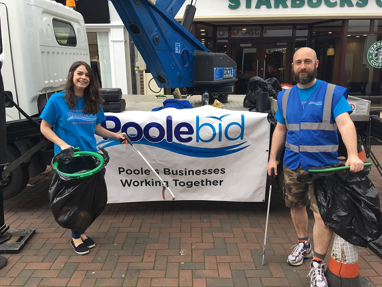 Volunteers required for Poole BID's Big Clean