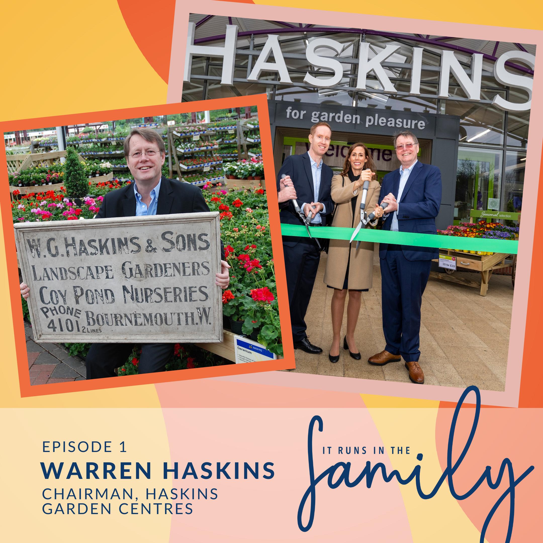 Warren Haskins podcast